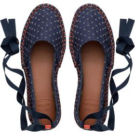 havaianas Origine Slim Espadrilles Femme, navy blue
